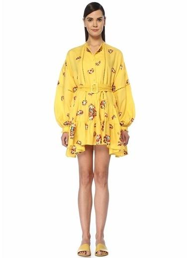 Beymen&Designer Plaj Elbisesi Sarı